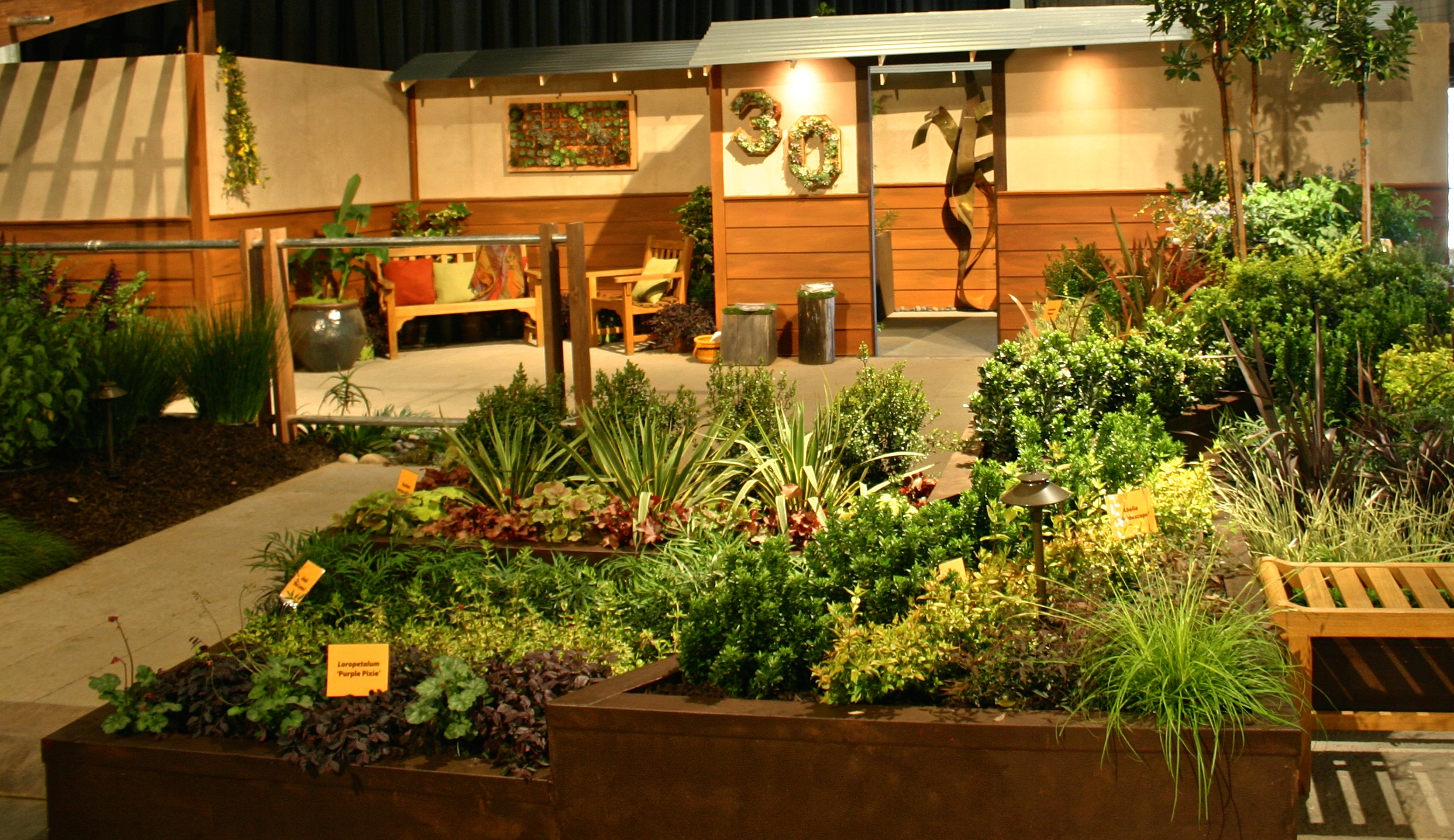 Beau Lawnu2014Long Ago At The 2016 San Francisco Flower U0026 Garden Show