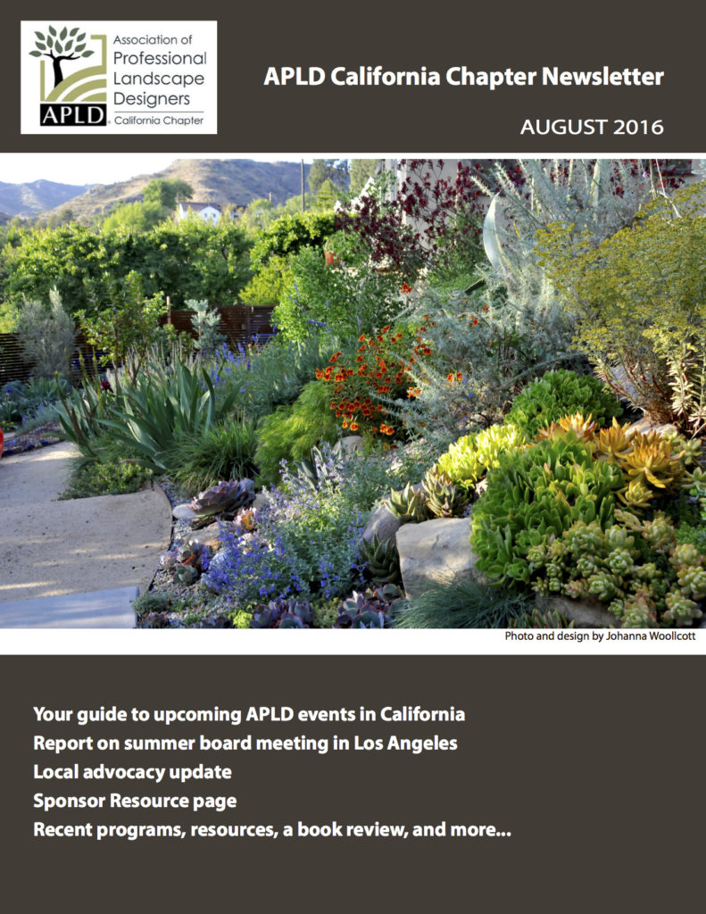 APLD CA Newsletter August 2016